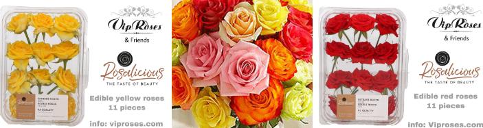 Τριαντάφυλλα Που τρώγονται