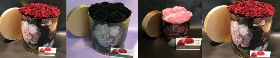 """Τριαντάφυλλα σε """"Πολυτελές"""" κουτί"""