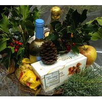 Basket Wine + Champagne + Chocolates .... and a lot more goodies  !!!