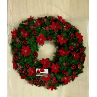 Christmas Wreath With Artificial Decoration