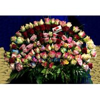 Τριαντάφυλλα (100) τεμ. Καλάθι !!!
