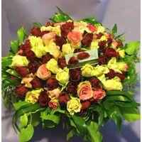Τριαντάφυλλα Ροζ & Κόκκινα (100τεμ.) καλάθι !!! Εξτρα Ποικιλίες !