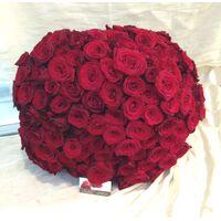 """""""Κόκκινα Τριαντάφυλλα"""" !!! (200) τεμ.  Μπουκέτο Extra Special !!!"""