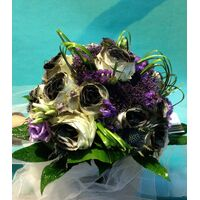 """Black Bride"" Wedding bouquet"