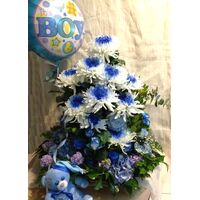 Arrangement for new born baby  boy