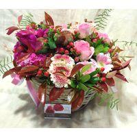 Flower Arrangement  for New Born Baby ! Spring Basket
