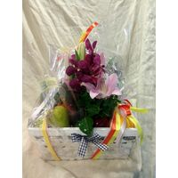 Goodies  Basket ! Flowers & Fruits !