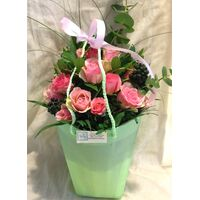 Roses (21) stems Bouquet in Water bag Only 24.99€