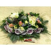 Christmas & New Year Celebrating Arrangements Flowers.Trays. Silver!!!