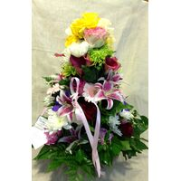 "Flower arrangement. ""Million"" Colors. Special !"