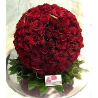 """Red roses """"League"""" !!! X-Large Red Roses Ball !!! (250) Heads !!! Exclusive !!!"""