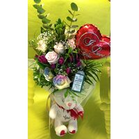 Valentine Season Flowers Bouquet