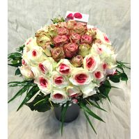 Perfect Pink Roses Bouquet