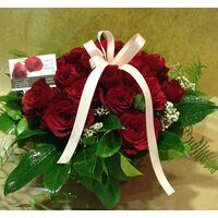 """""""Κόκκινα Τριαντάφυλλα"""" !!! Αγάπη !!! (21) τεμ. Σύνθεση !!!"""
