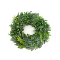Christmas Wreath Abies Nobilis or Mixed Greens Diam. 45-50cm