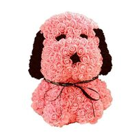 "Roses Teddy Bear ""Snoopy"". Dim. 40cm. In ""Decorative Package ""."