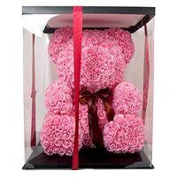 Αρκουδάκια από τριαντάφυλλα.Rose Bear 70cm.