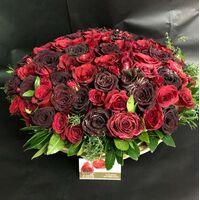 """""""Κόκκινα Τριαντάφυλλα"""" !!! Αγάπη χ (101) τεμ. !!! Καλάθι."""