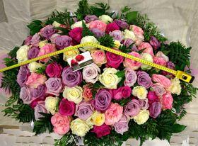 Τριαντάφυλλα Εκουαδόρ . Μεγάλο Καλάθι 0,65m.x0,50m.!!! (70) τεμ. Ιδιαίτερα Εντυπωσιακό