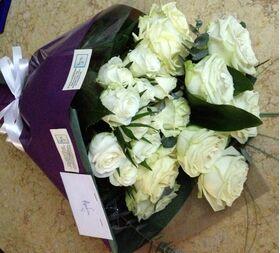 (21) λευκά τριαντάφυλλα