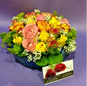 (21) mixed roses. Super week offer!!!Special