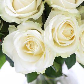 Τριαντάφυλλα Ροζ ή Λευκά (40τεμ.) Ανθοδέσμη ή Μπουκέτο
