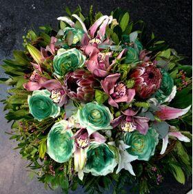 Τροπικά λουλούδια σε μπουκέτο ή σύνθεση !!!(Πολυτελές)