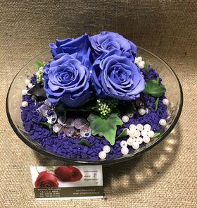 Τριαντάφυλλα βαλσαμωμένα (4) Τεμ. σε σύνθεση. Νέο Είδος !!!