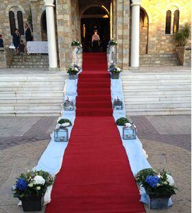 """Γάμος. Στολισμός Εκκλησίας Με """"Ορτανσίες"""""""