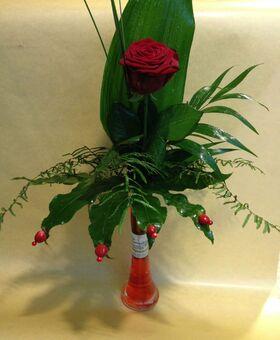Ανθοπωλείο. Ένα Υπέροχο τριαντάφυλλο