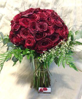 """""""Κόκκινα Τριαντάφυλλα"""" !!! Αγάπη χ 100 !!! (1) Πολυτελές Μπουκέτο (100) τεμ..!!!"""