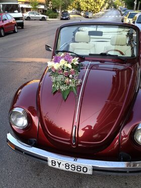 Wedding auto front side !!!