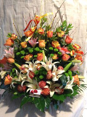 Πίνακας λουλουδιών με καλοκαιρινό άρωμα!!!