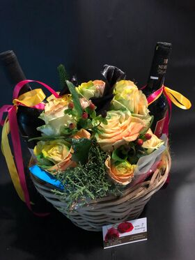 Basket Wine + Chocolates  !!!Exclusive.