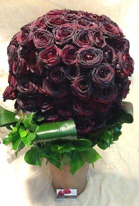 Μαύρα Τριαντάφυλλα Μπουκέτο (150)τεμ. Εκουαδορ !