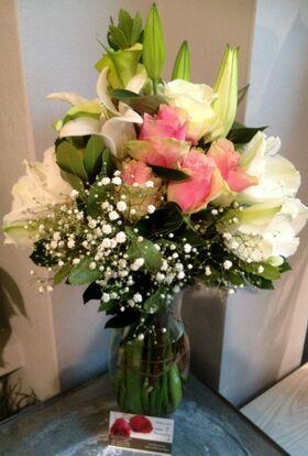 Βάζο με λουλούδια - Εξτρα